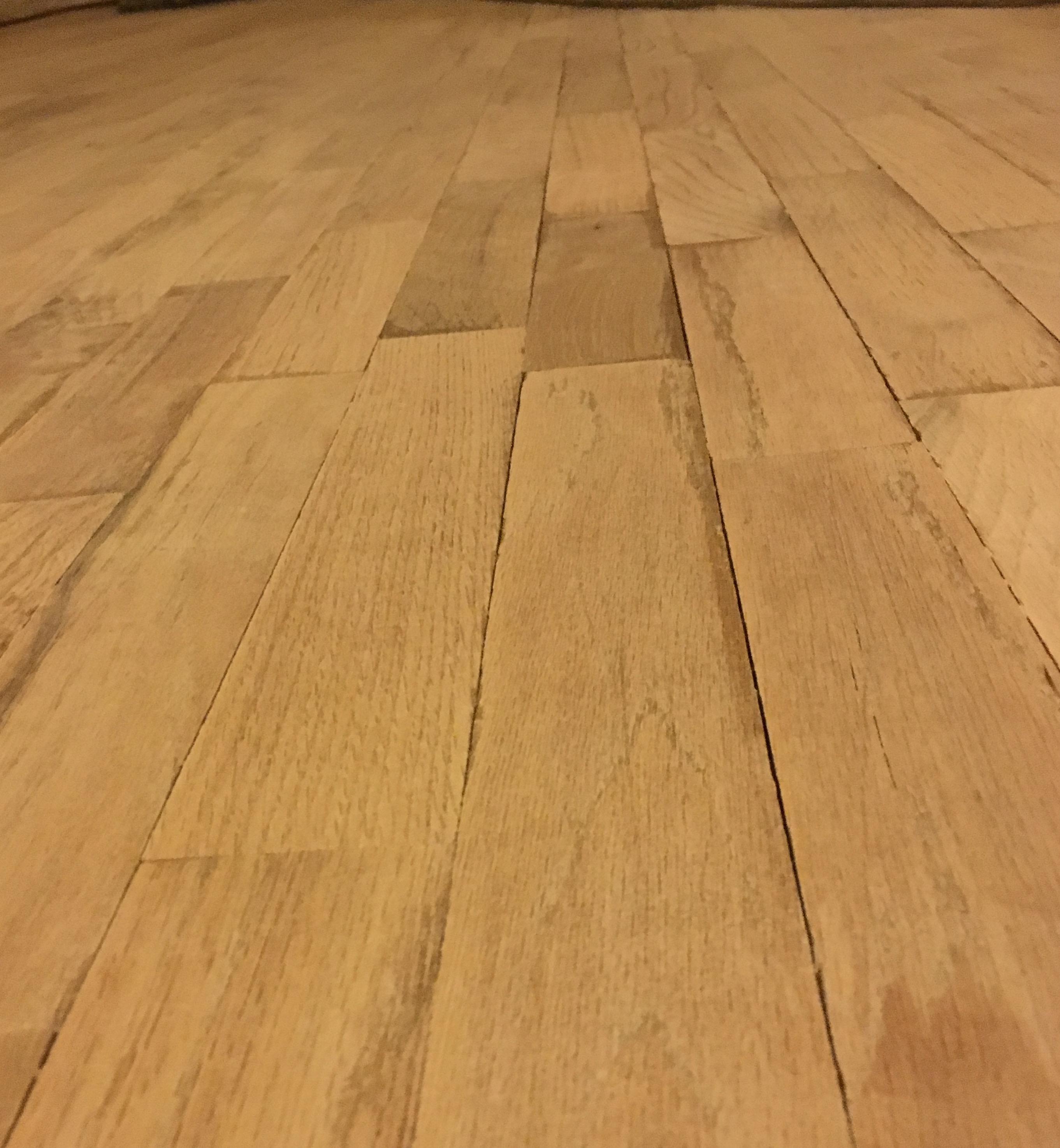 Sanded segment