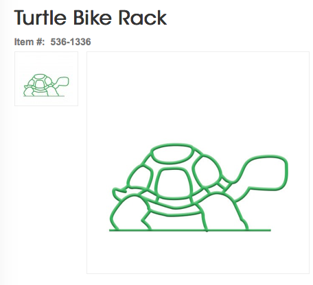 Turtle Bike Rack